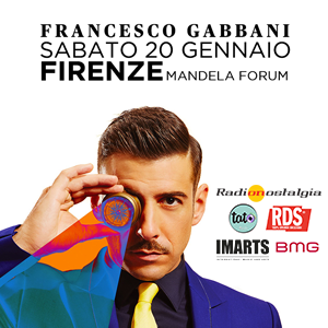 Francesco Gabbani a Firenze