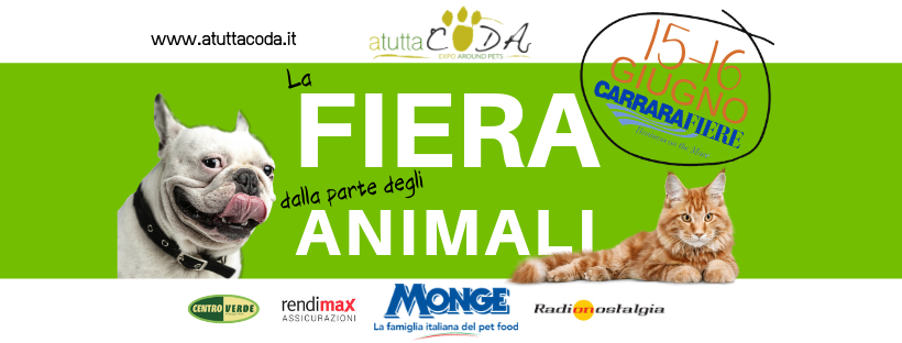 AtuttaCoda la fiera dalla parte degli animali (VIDEO) 62135241 2183917741677622 5304531154567692288 n